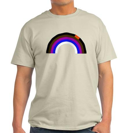 BJJ Loop - Colors of Progress Light T-Shirt