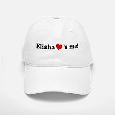Elisha loves me Baseball Baseball Cap