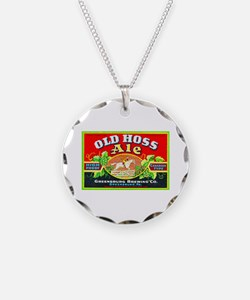 Pennsylvania Beer Label 9 Necklace