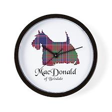 Terrier - MacDonald of Boisdale Wall Clock