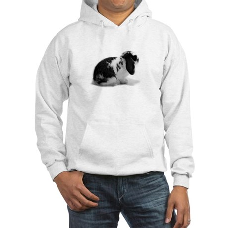 Holland Lop Rabbit - Broken B Hooded Sweatshirt