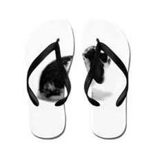 Holland Lop Rabbit - Broken B Flip Flops