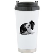 Holland Lop Rabbit - Broken B Travel Mug