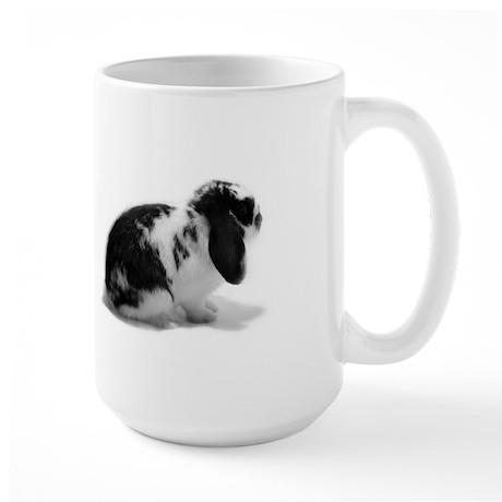 Holland Lop Rabbit - Broken B Large Mug