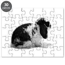 Holland Lop Rabbit - Broken B Puzzle