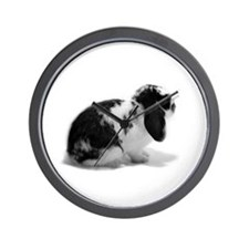 Holland Lop Rabbit - Broken B Wall Clock