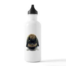 Holland Lop Rabbit Tort Water Bottle