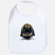 Holland Lop Rabbit Tort Bib