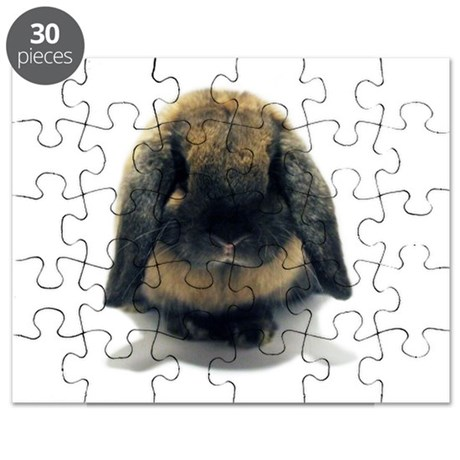 Holland Lop Rabbit Tort Puzzle