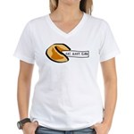 Climbing Fortune Cookie Women's V-Neck T-Shirt