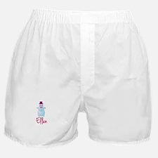 Ellen the snow woman Boxer Shorts