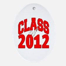 Class of 2012 Ornament (Oval)
