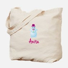 Anita the snow woman Tote Bag