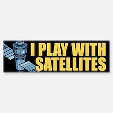 Satellite Bumper Bumper Bumper Sticker