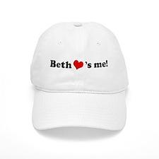 Beth loves me Baseball Cap