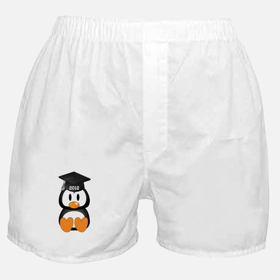 Custom Graduation Penguin Boxer Shorts