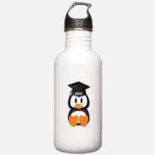 Custom Graduation Penguin Water Bottle