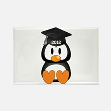 Custom Graduation Penguin Rectangle Magnet (100 pa