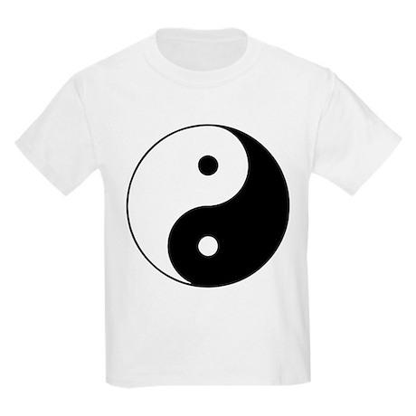 Yin Yang Symbol Kids Light T-Shirt