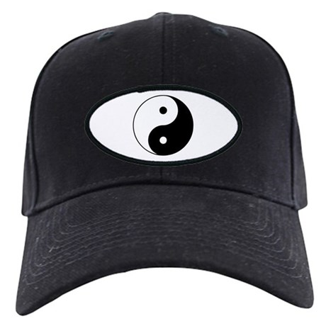 Yin Yang Symbol Black Cap