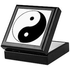 Yin Yang Symbol Keepsake Box
