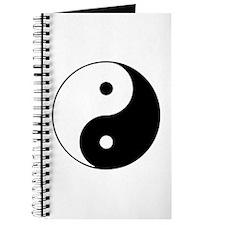 Yin Yang Symbol Journal