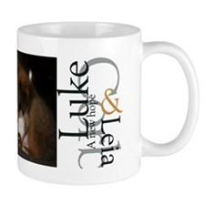 Luke and Leia Mug