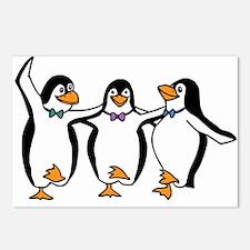 Penguins Dancing Postcards (Package of 8)