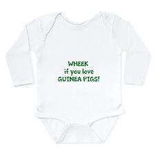 Unique Guinea pig lover Long Sleeve Infant Bodysuit