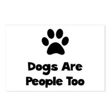 Dogs Are People Too Postcards (Package of 8)