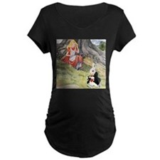 ALICE & THE WHITE RABBIT T-Shirt