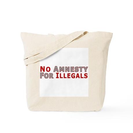 Immigrant No Amnesty D23 Tote Bag