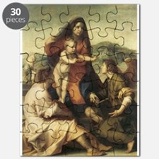 The Virgin and Child with a S Puzzle