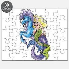 Mermaid & Seahorse Puzzle