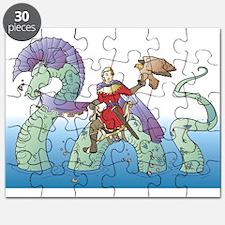 Prince & Dragon Puzzle