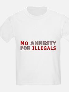 No Amnesty D23 Kids T-Shirt
