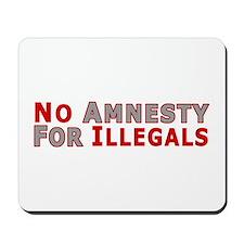 No Amnesty D23 Mousepad