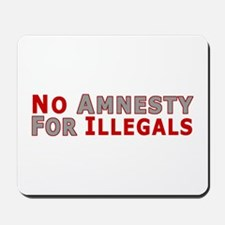 No Amnesty D23 Mousepad