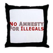 No Amnesty D23 Throw Pillow