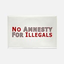 No Amnesty D23 Rectangle Magnet