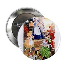 "ALICE AND THE DUCHESS 2.25"" Button (10 pack)"