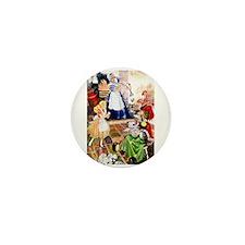 ALICE AND THE DUCHESS Mini Button