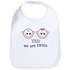 Yes! We are Twins Bib