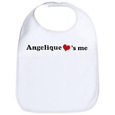 Angelique loves me Bib