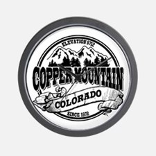 Copper Mountain Old Circle Wall Clock