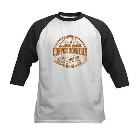 Copper Mountain Old Circle Kids Baseball Jersey