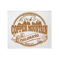 Copper Mountain Old Circle Throw Blanket