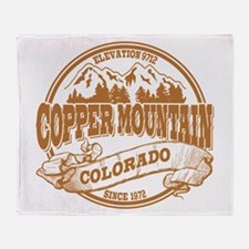 Copper Mountain Old Circle Throw Blanket