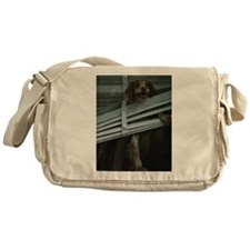 Cute American brittany Messenger Bag