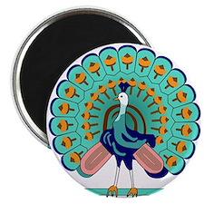Burmese Peacock Symbol Magnet